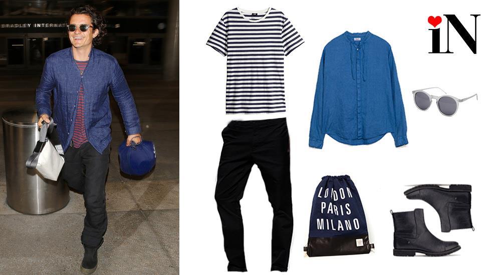 L'outfit ispirato ad Orlando Bloom per la summer 2014