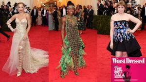"MET gala 2014 i ""worst dressed"" di sempre!"