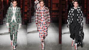 Moncler conquista la Milano Fashion Week  2014 in Argyle style