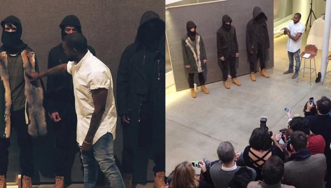 Kanye West crea con A.C.P. la fall winter collection 2014-15