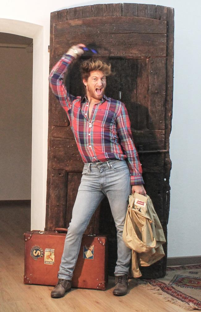 Levi's jeans, camicia Levi's, e giacca Levi's