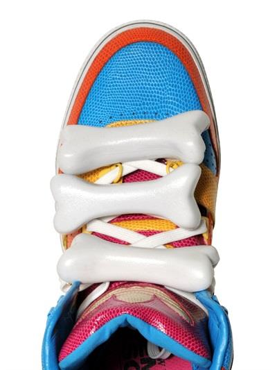 Per i saldi 2014 non perderti le sneakers da donna di Jeremy Scott su LUISAVIAROMA