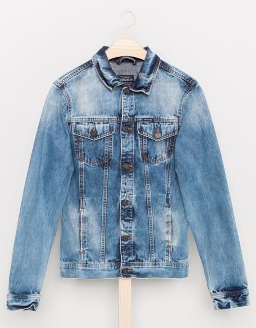 Giacca in jeans per il look alla Ryna Reynolds per l'estate 2014