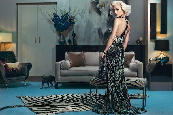 Rita Ora by Francesco Carrozzini Fall Winter 2014 Ad Campaign