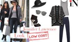 L'outfit per andare a fare shopping come la star Jennifer Lawrence