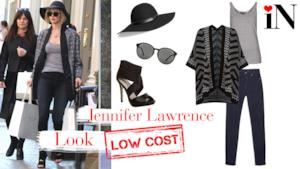 L'outfit per andare a fare shopping come la star Jennifer Lawrence