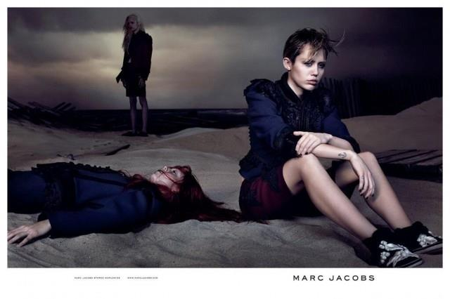 Miley Cyrus testimonial per Marc Jacobs