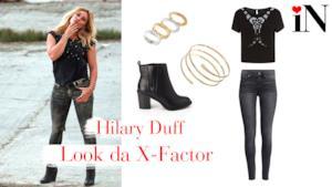Hilary Duff si è esibita con un outfit country a X Factor Australia