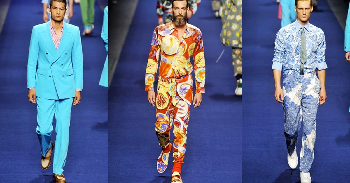 huge discount 5195e fb5c4 Etro collezione primavera estate 2015 uomo, Milano fashion ...