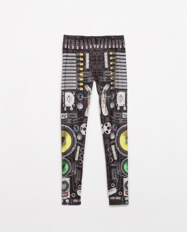 Leggings da uomo di Zara scontato per i saldi estivi 2014