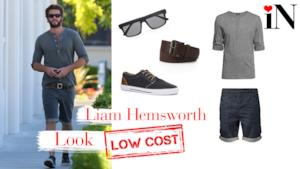 Il look low cost di Liam Hemsworth