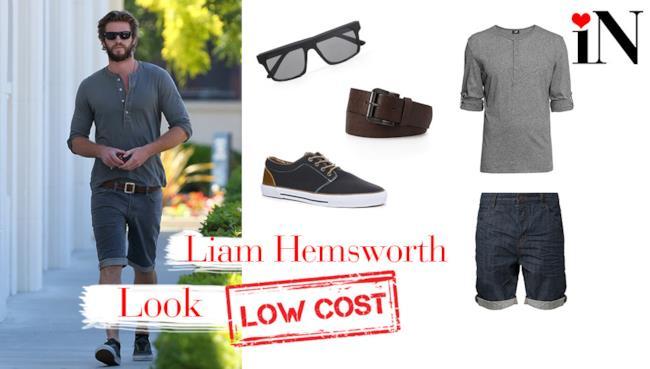 Il look low cost di Liam Hemsworth