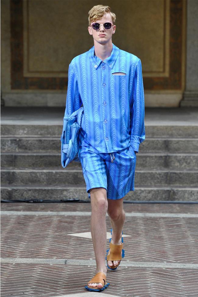 La nuova collezione uomo di Julian Zigerli per la primavera estate 2015, Milano Fashion Week