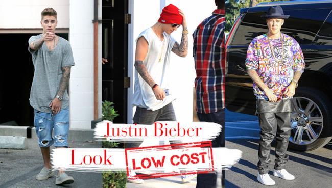 3 outfit con capi low cost per assomigliare a Justin Bieber