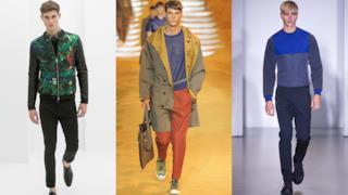 Tre modelli che mostrano come indossare l'outfit activewear per l'estate 2014
