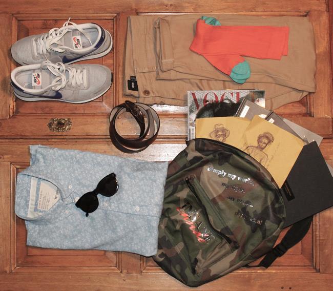 Camicia ASOS, sneakers Nike e occhiali Athinà Lux