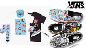 Capi e accessori della linea Vans x Star Wars