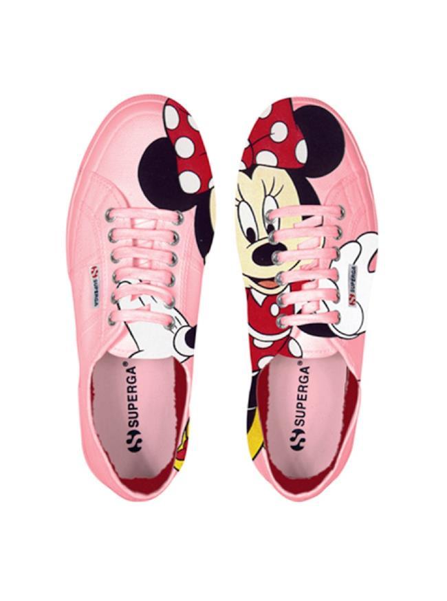 5f35ff1f53 Inside L'estate Per Sneakers Con Minnie Superga 2014 Insane Stampa ...