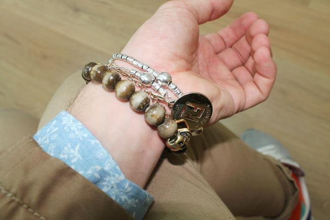 bracciali di Fendi, Pomellato e ASOS