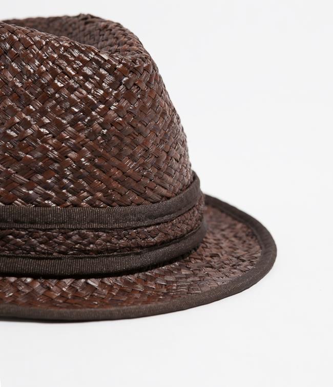 Cappello di paglia di Zara in saldo per i saldi estivi 2014