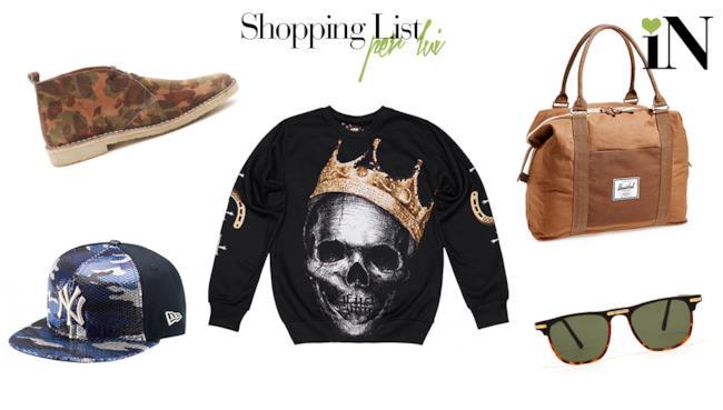 La shopping list dai capi low cost