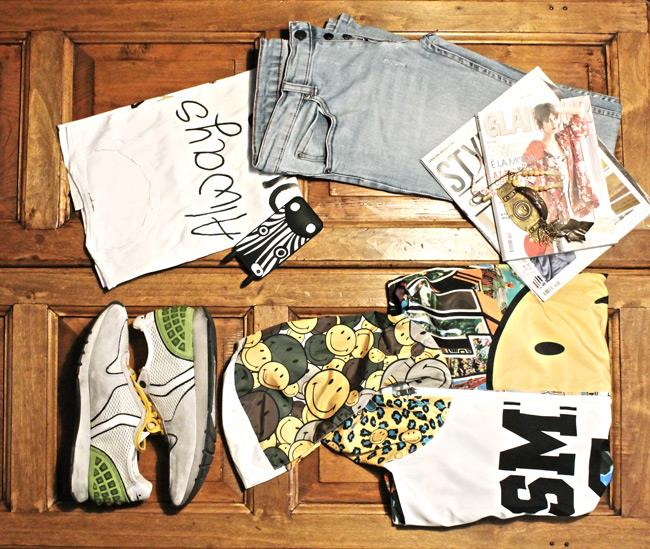Bomber di Happiness, Case di Marc Jacobs e sneakers Voile Blanche
