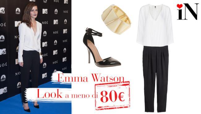 L'outfit low cost per essere elegante come Emma Watson