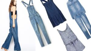 Estate 2014: le 10 migliori salopette di jeans da indossare
