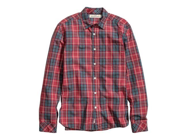H&M camicia in tartan