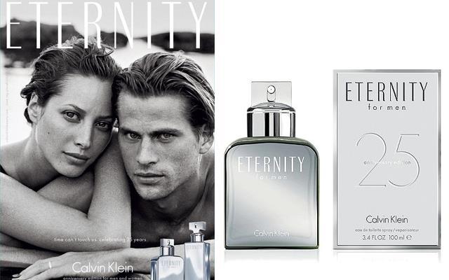 Calvin Klein l'iconico profumo compie 25 anni