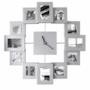 Orologio con quadri personalizzabili