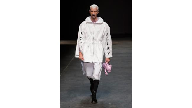 Giacca di Bobby Abley, London Fashion Week 2014