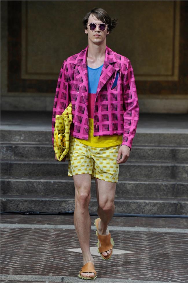 La collezione uomo di Julian Zigerli per la primavera estate 2015, Milano Fashion Week