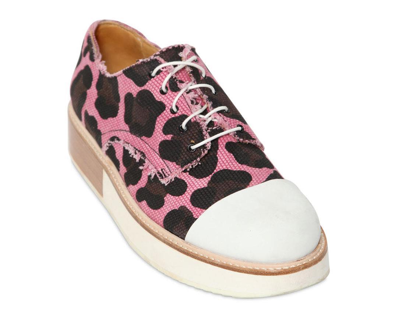 on sale 165f6 63010 Saldi 2014: scarpe stringate con stampa animalier di MOBI in ...