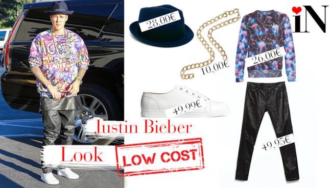 Il perfetto look low cost per essere come Justin Bieber