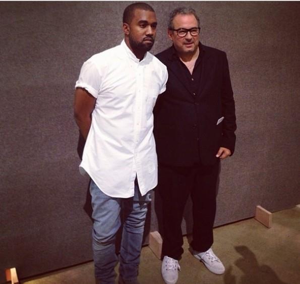 Kanye West collabora con A.P.C per creazione della fall winter 2014-15