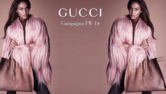 La campagna autunno inverno 2014 di Gucci