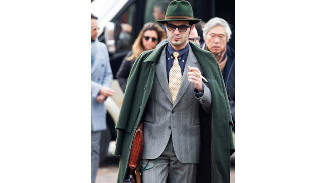 uomo in british style al Pitti 2014