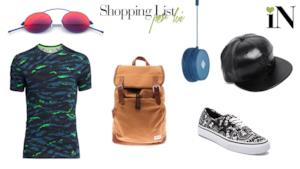 La shopping list della settimana per lui con capi low cost