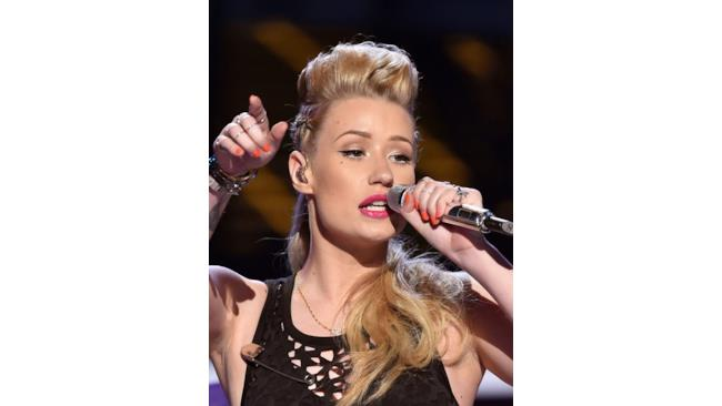 BET Awards 2014 Iggy Azalea makeup ispiration