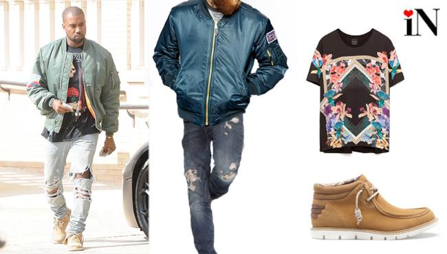Il look alla Kanye West per la summer 2014