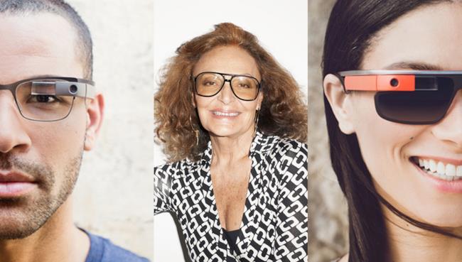 DVF lancia in esclusiva i nuovi occhiali in collaborazione con Google