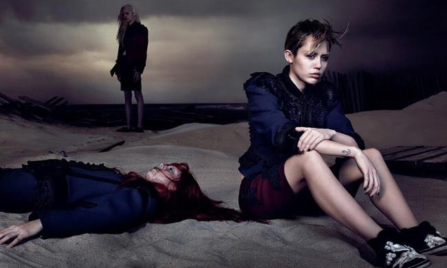 Miley Cyrus modella per Marc Jacobs