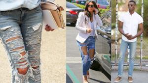 La tendenza dell'estate 2014 è indossare il jeans con effetto used