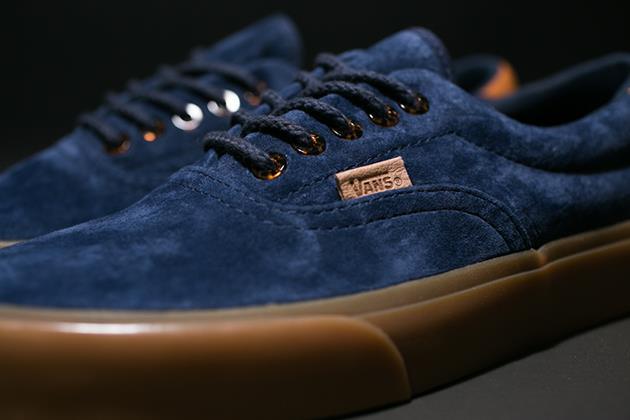 Modello sneakers di Vans California Era 59 Gum Sole Pack, summer 2014