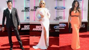 BET Awards 2014 Red Carpet moment
