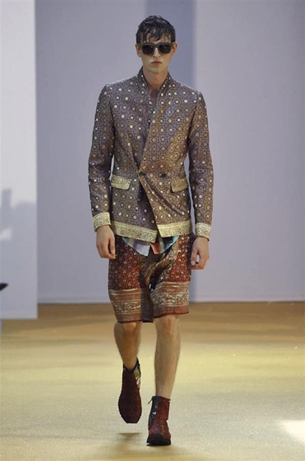 La collezione uomo di Tom Rebl per la primavera estate 2015, Milano Fashion Week