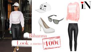 Avere uno stile come la cantante Rihanna a meno di 100€