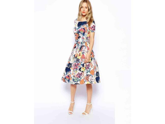 L'abito di ASOS Petite a fiori è perfetto per la tua estate 2014