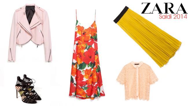 La top 5 dei capi imperdibili da Zara per i saldi estivi 2014